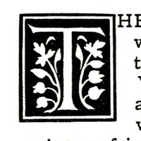 Northern Springtime, initial letter