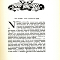 The Moral Evolution of Sex, decorated page