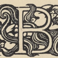 The Marred Face Initial Letter B