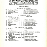 The Contents, decorated page
