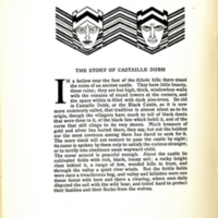 The Story of Castaille Dubh, decorated page