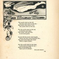 The Norland Wind, decorated page