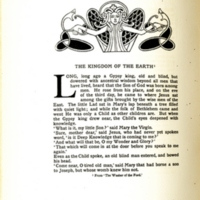 The Kingdom of the Earth, decorated page