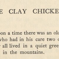 Marginal decorations for The Clay Chickens