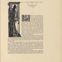 The Marred Face Decorated Page